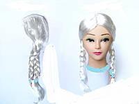 Парик Снегурочки две косички