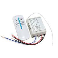 2-х канальный беспроводной выключатель освещения 220В