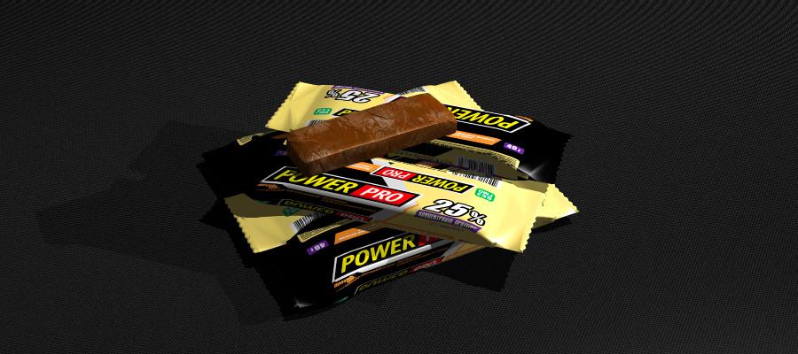 Протеиновый батончик Power Pro ваниль 25% 40г х 20 шт.