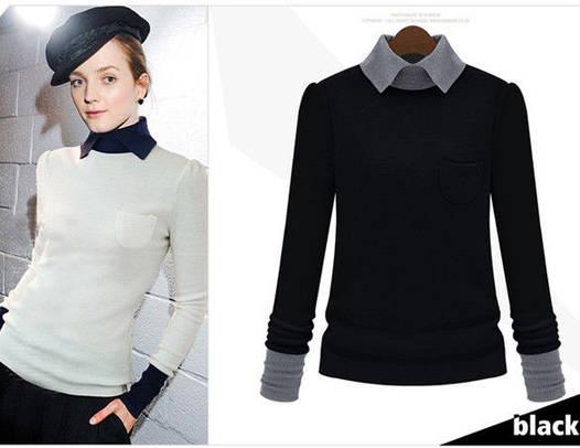 Женская кофта-рубашка оптом D5654