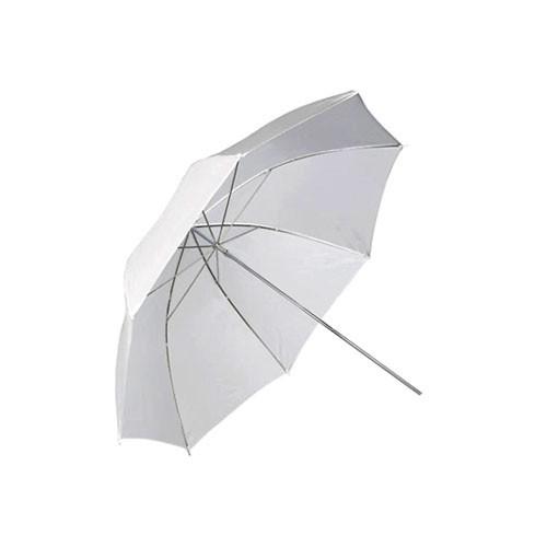 """Фото зонт 84см белый 33"""" студийный на просвет - «Double-Shop»  оптово-розничный интернет магазин в Ровно"""