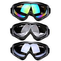 Горнолыжная маска для катания на лыжах.