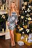 Х8097 Платье коктейльное пайетка, фото 5