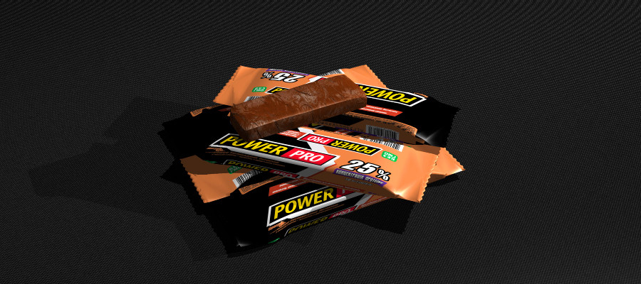 Протеиновый батончик Power Pro какао 25% (60г.)