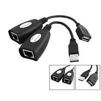 USB 1.1 удлинитель по RJ45 витой паре до 50м, UTP