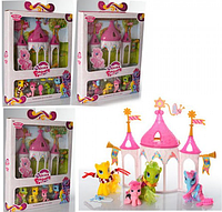 """Игровой набор """"Домик для пони"""" 6627-1-2-3-4 My Little Pony"""