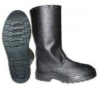 Кирзовые сапоги утепленные, обувь юфтевая, кирзовая