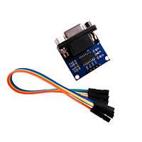 Конвертер RS232 - TTL плата Max232 модуль atmega16 (порты: TX RX VCC GND)