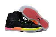 Мужские баскетбольные кроссовки  Air Jordan  31 (Black/Yellow/Pink), фото 1