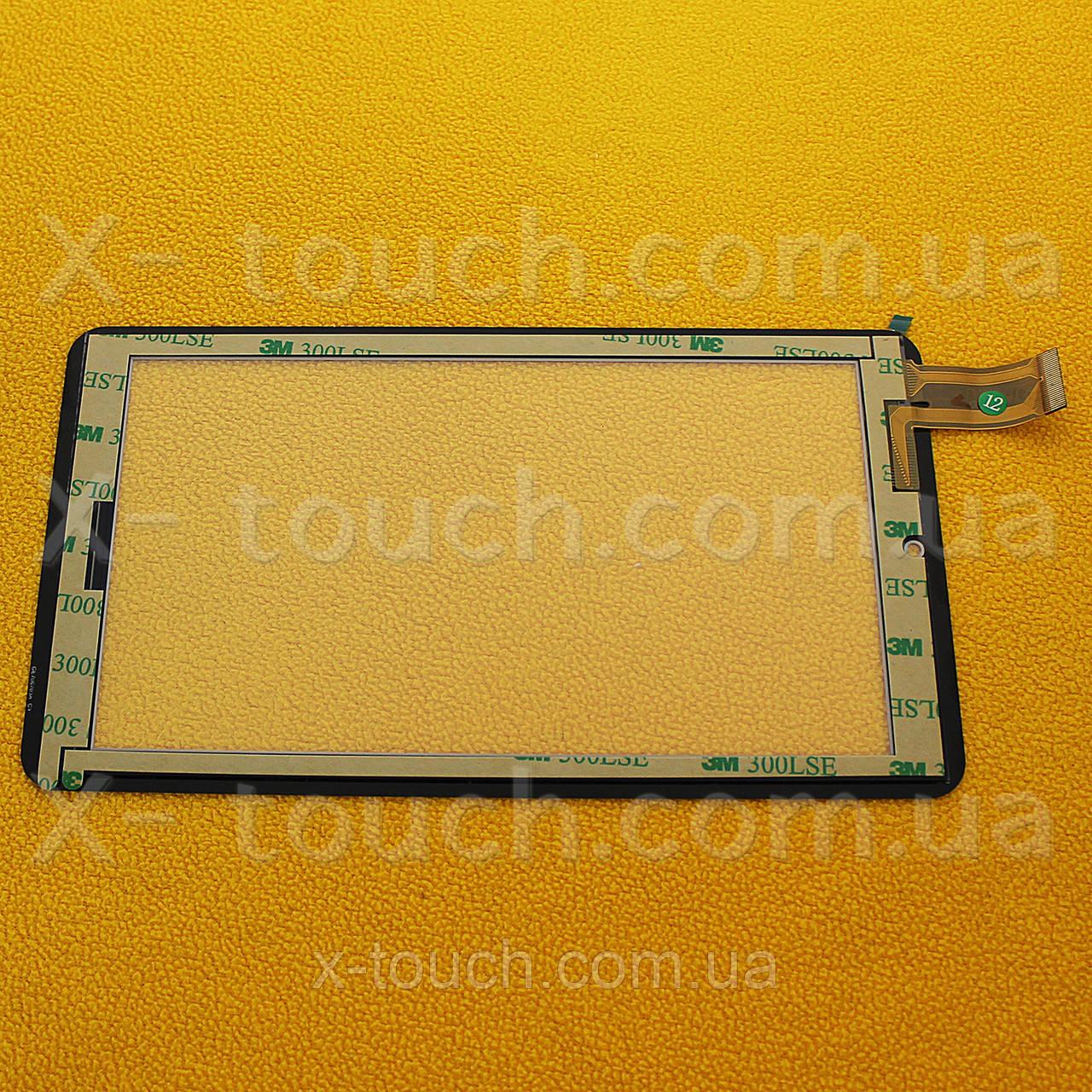 Тачскрин, сенсор Ginzzu GT-7020 черный  для планшета