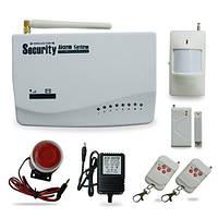 Беспроводная GSM-сигнализация, охранная система с датчиками и сиреной