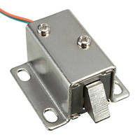 Компактный электрозамок 12В, магнитный замок защелка для шкафов