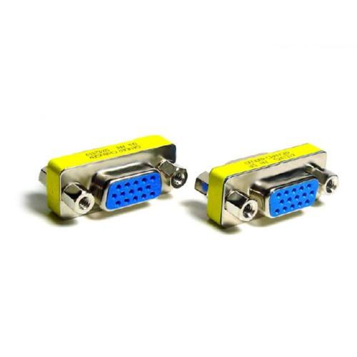 10х Переходник VGA мама-мама,  удлинитель VGA кабеля путем соединения