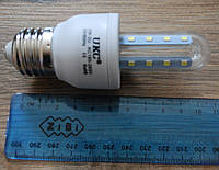 Светодиодная LED лампочка UKC 3W E27 3U длинная, Б295