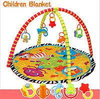 Коврик для младенца с погремушками BY-A26Y/30Y