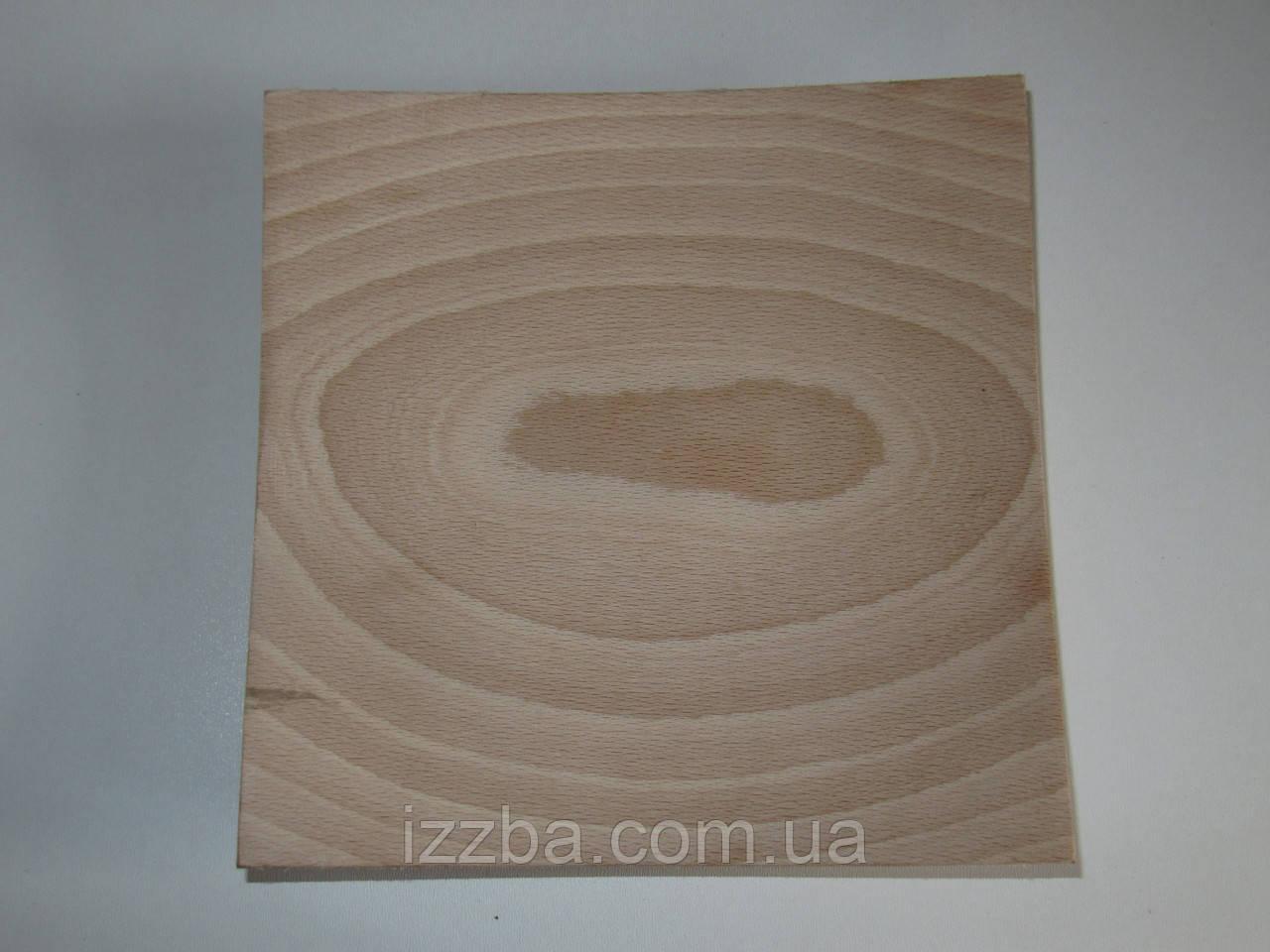 Деревянные тарелки, квадратные