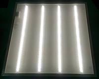 Светодиодная LED панель НАКЛАДНАЯ И ВСТРАИВАЕМАЯ 600х600мм 36Вт PRISMATIC колотый лед 6400К холодный белый