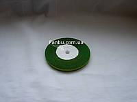"Блестящая лента""парча"",цвет зеленый(ширина0.5см)1 рулон-25 ярдов"