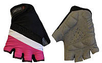 Спортивные перчатки женские без пальцев для фитнеса