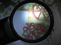 Лупа с подсветкой, диаметр 70 мм