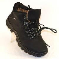 Комфортные тёплые мужские ботинки.