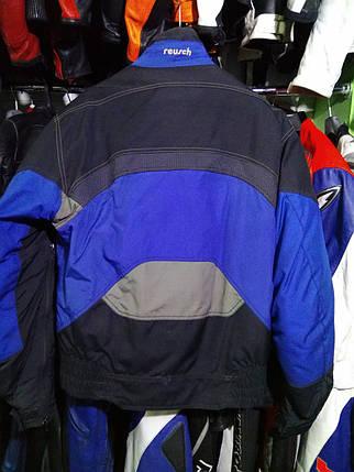 Мотокуртка бу текстиль  176, фото 2