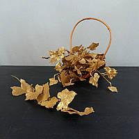 Декоративные золотые ветки