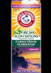 ARM&HAMMER для килимів, Острівний Туман Fresh Scentsations Carpet Odor Eliminator - Island Mist 850гр