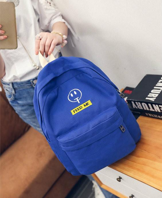 Городской рюкзак с модным принтом