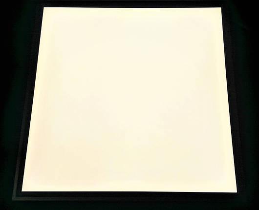 Светодиодная LED панель ВСТРАИВАЕМАЯ 600х600мм 36Вт 4000К 3000lm матовая с алюминием !