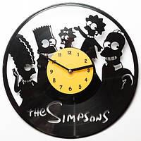 Виниловые часы The Simpsons