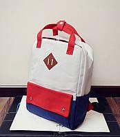 Стильная молодежная сумка-рюкзак