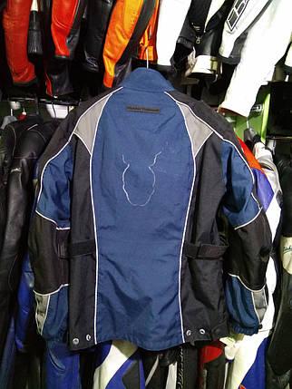 Мотокуртка бу текстиль  178, фото 2