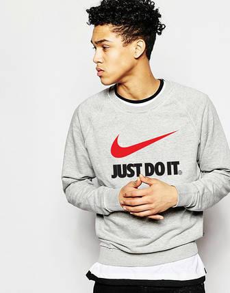 """Світшот чоловічий """"Найк"""" Nike Just do it   Кофта, фото 2"""