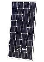Солнечная панель Altek ALM-120M, 12В (монокристалическая), фото 1