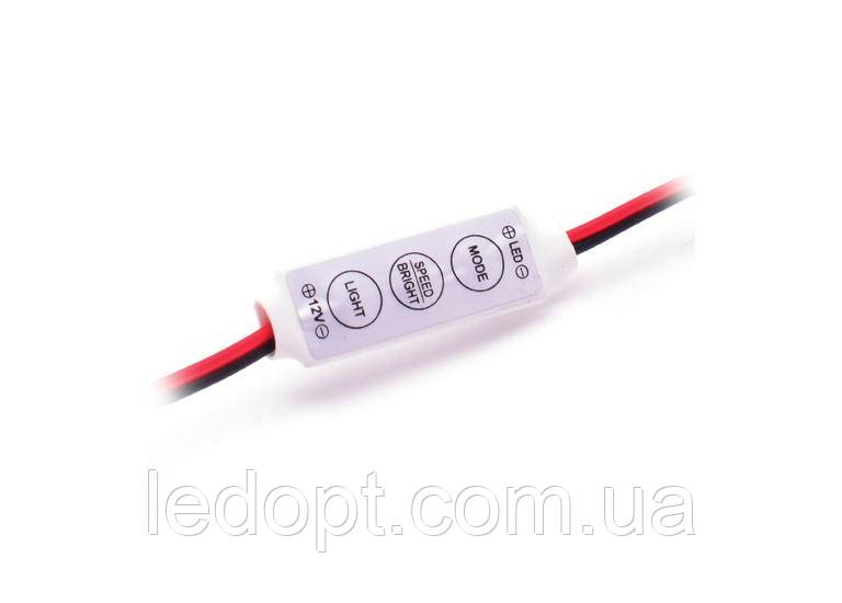 Диммер для Led ленты DMR 12V, 12A mini