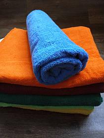 Полотенце махровое 70х140, цвет голубой, 100% хлопок - плотность 380