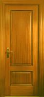 Двери межкомнатные шпон кедра прямоугольная филенка,глухие