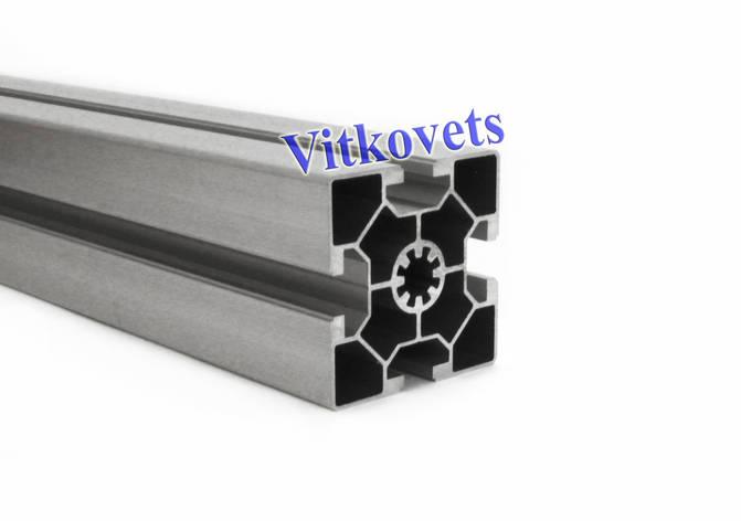 Станочный алюминиевый профиль однопазовый 60х60 1000мм, фото 2