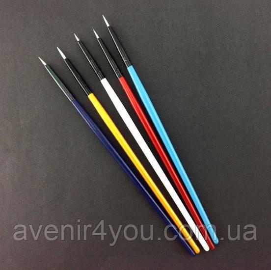 Набор кистей для дизайна ММ 5 шт. арт. 72844