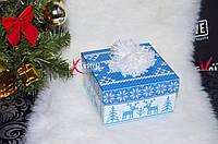 Красивая новогодняя коробочка., фото 1