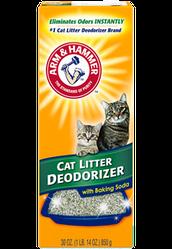 ARM&HAMMER Дезодорант ARM&HAMMER для котячих туалетів у формі порошку Cat Litter Deodorizer Powder 567г