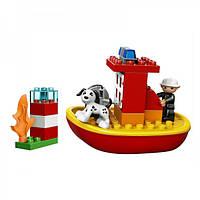 Конструктор Лего дупло LEGO Duplo Пожарный катер 10591
