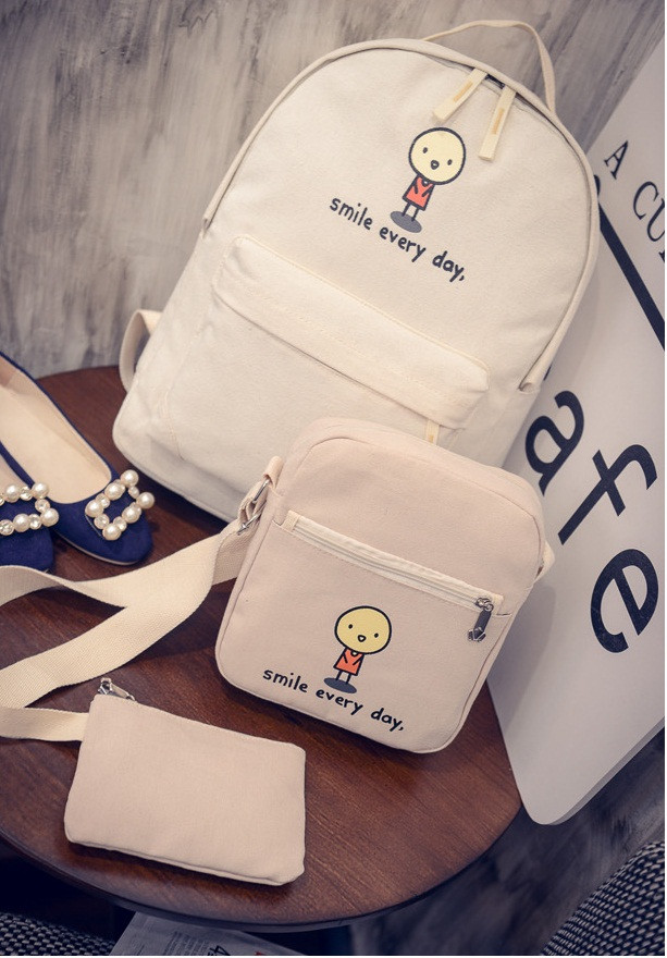 Модный рюкзак Смайл 3 в 1
