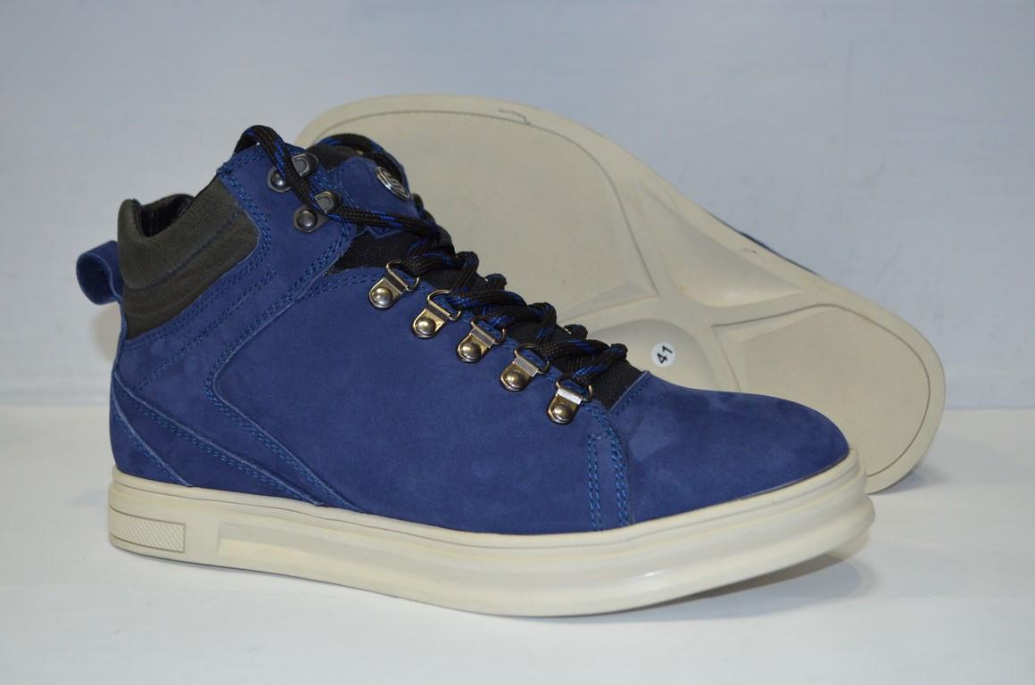 656f9c24 Зимние мужские ботинки замшевые синие.молодежные: продажа, цена в ...
