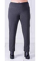 Женские брюки на меху большого размера (размеры 48-62)