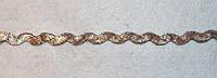 Тесьма зиг-заг  807 серебро