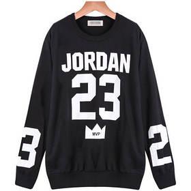 Свитшот мужской с принтом Jordan 23 MVP | Кофта Джордан 23