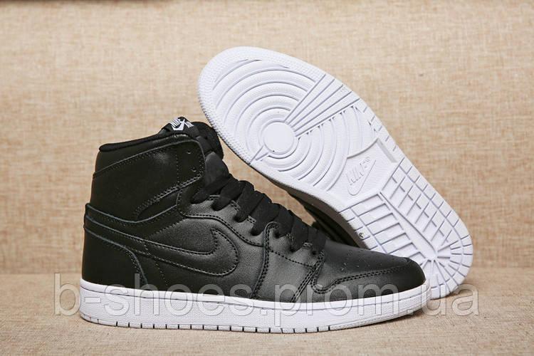 Мужские Баскетбольные кроссовки Air Jordan Retro 1 (Black)
