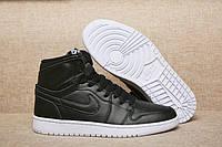 Мужские Баскетбольные кроссовки Air Jordan Retro 1 (Black) , фото 1
